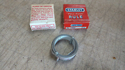 Vintage STANLEY Tape Measure Replacement Blades Model B48W 8Ft Foot Original Box