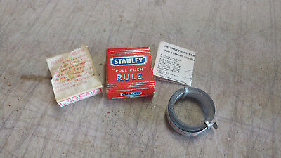 Vintage STANLEY Tape Measure Replacement Blades Model B412 12Ft Original Box