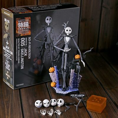 7inch The Nightmare Before Christmas Jack Skellington Sally Action Figure Gifts