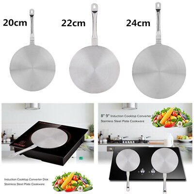 Stainless Steel Heat Diffuser Plate For Gas/Electric/Induction Cooker 20/22/24cm