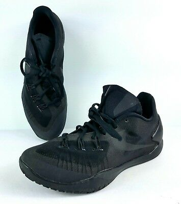 caa973b7d622 Nike Hyperchase Basketball Shoes 705363-003 Black Size 9.5 Trainers Sneakers