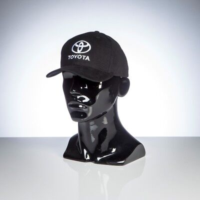 Official Toyota Merchandise - Toyota Black Cap - Heavy Brushed Cotton
