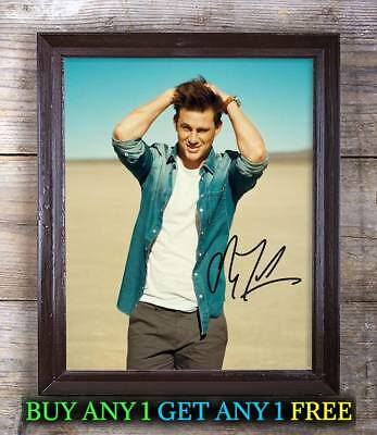 CHANNING TATUM #3 REPRINT AUTOGRAPHED 8X10 SIGNED PICTURE PHOTO COLLECTIBLE RP