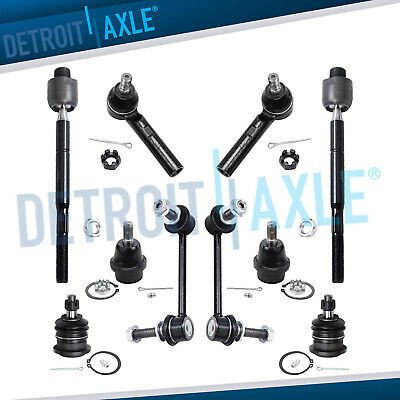 100/% New Ball Joints Tie Rods Sway Bar Links for Toyota 4Runner 10pc 03-09
