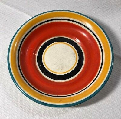 Vintage Single Susie Cooper  Grays Pottery Spare Art Deco Saucer