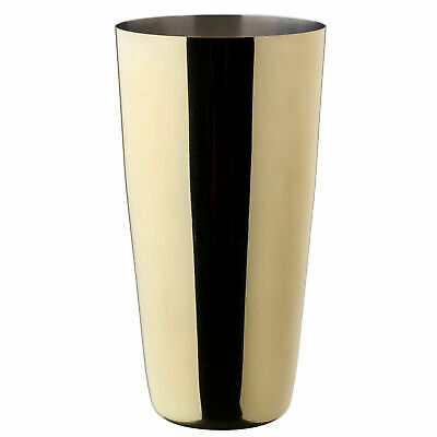 Gold Plated Cocktail Shaker 28oz / 800ml - Case of 6 - Boston Shaker Tin