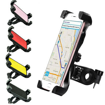 360° Rotation Bike Motorcycle Handlebar Clip MTB Mount Holder For Cell Phone GPS