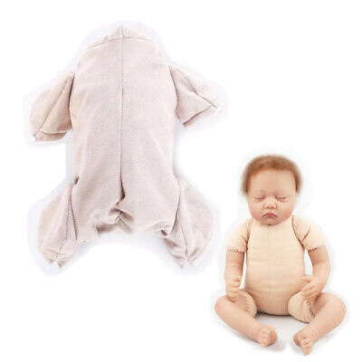 Doe Suede Body For Doll Kit 3/4 arms Full Legs 22 inch Reborn Baby Supplies