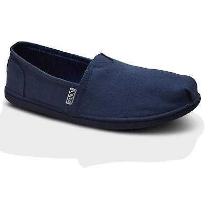 Women Skechers WONDER 34233NVY Navy Slip On Flats Casual Sneaker Shoes