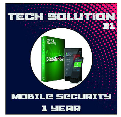 BitDefender Mobile Security 2020 Unlimited Devices 1 Year + Free Gift