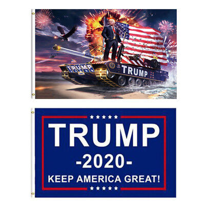 Large 3x5 Trump Keep America Great 2020 Flag - Elect Donald For USA President