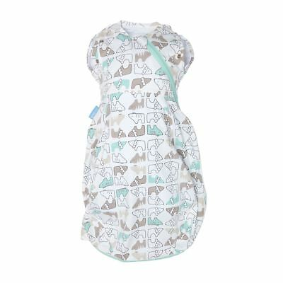 Lions & Tigers Gro-Snug 2-in-1 Swaddle and Grobag - Hip-Healthy, Newborn, Cosy
