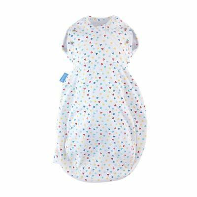 Confetti Gro-Snug 2in1 Swaddle & Grobag Gro Company - Hip-Healthy, Newborn Light