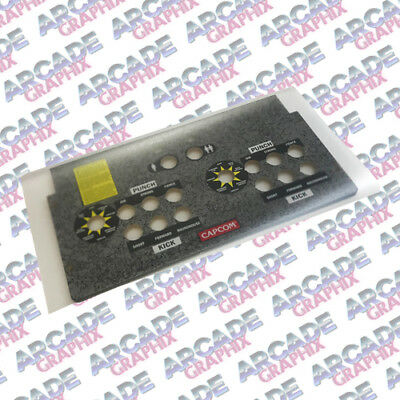 Arcade1up Control Panel Overlay CPO Luster Finish Textured Protective Laminate