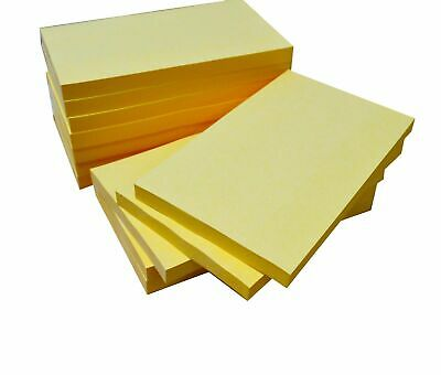 Yellow Sticky Wall Removable Note Pads [100 notes per pad] Assorted Sizes