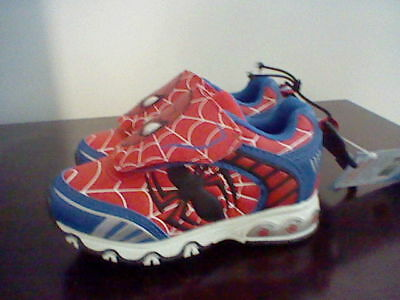 NEW KIDS BOYS MARVEL ULTIMATE SPIDER-MAN TODDLER BOY SHOE SIZE 8 7 11 80075