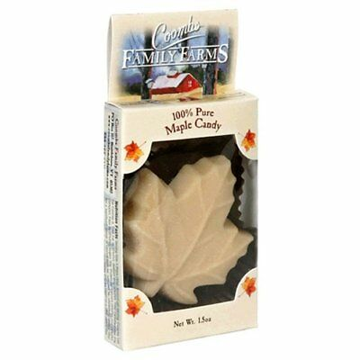Coombs Family Farms 100% Pure Maple Candy, Maple Leaf, 1.5-Ounce Packages/16 pie