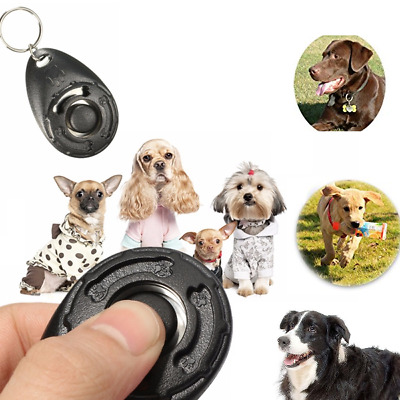 DOG PET TRAINING CLICKER TEACHING TOOL DOGS PUPPY CLICK TRAIN UK seller