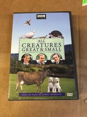 All Creatures Great & Small: Complete Series 3 Collection 4-Disc Dvd Set, Guc