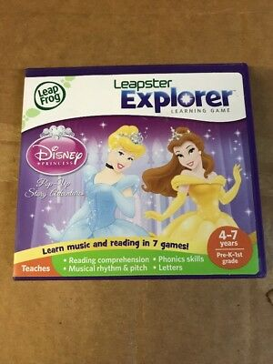 Leap Frog Leappad Disney Princess Pre Kkindergarten Reading Story