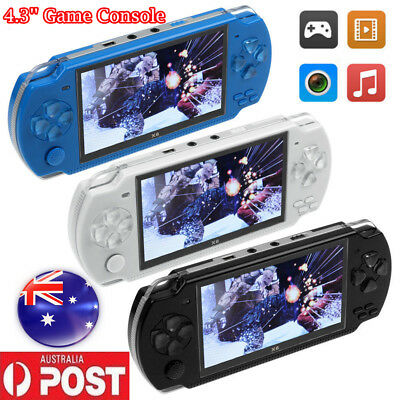 AU 8GB 4.3'' Games Built-In Portable PSP Handheld Video Game Console Player Gift
