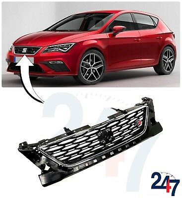 New Seat Leon Fr 5F 2012 - 2018 Front Upper Center Radiator Grill 5F0853654D