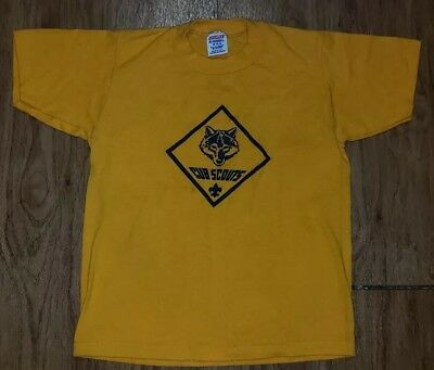 Vintage Cub Scouts T-shirt M 10-12 (EARLY 1980'S)