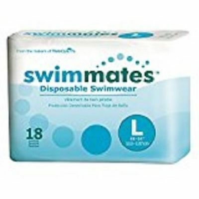 Tranquility Swimmates Disposable Swimwear, LARGE, Adult Swim, 2846 - Pack of 18