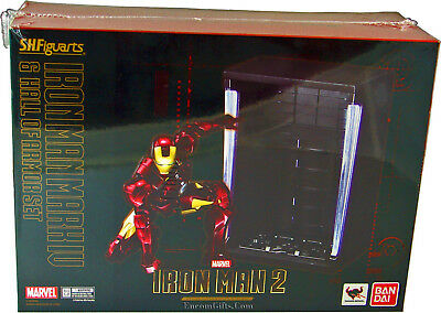 Iron Man Mark IV and Hall of Armor Set S.H. Figuarts Action Figure