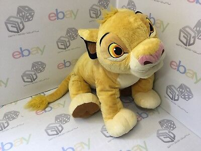 Lion King Simba Extra Large Authentic Disney Store Soft Floppy Plush Toy Soft