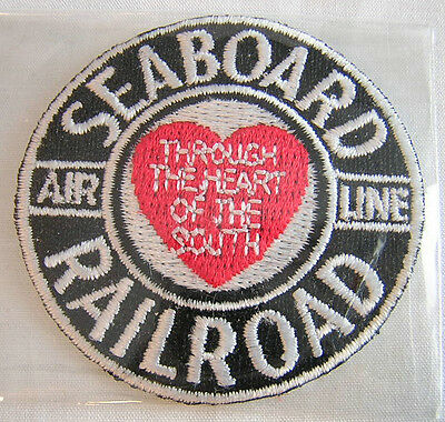 SEABOARD AIR LINE Railroad PATCH Through the Heart of the South IRON ON