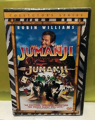 Brand New Jumanji (Dvd, 2000, Collector's Edition) Robin Williams, Kirsten Dunst