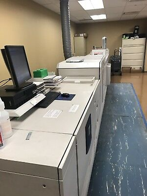 Xerox DocuTech 6180 In Use Now! Full System And Supplies! MAKE OFFER!