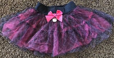 Girls Hello Kitty Tu-Tu, Black/Pink Size 5, Shipping Included!