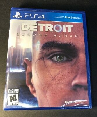 Detroit Become Human (PS4) NEW