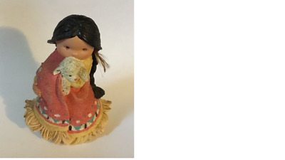 Friends Of The Feather Enesco She Who Cares A Lot  1994 Karen Hahn # 115630