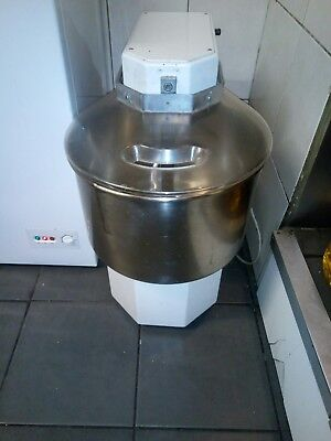 25 Litre Pizza group Spiral Dough Mixer Commercial single phase