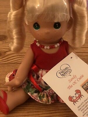 "Super Rare Precious Moments 9"" Ocean City MD Sandy The OC Cutie Doll Collectible"