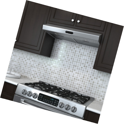 Valore Cascade 30 Contemporary Under Cabinet Design Range Hood With