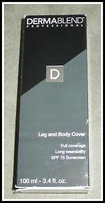 Dermablend Leg and Body Cover Make-Up SPF 15, Dark, 3.4 Ounce
