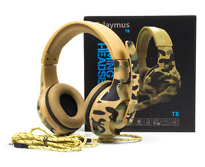 BiBox T8 Gaming Headsets Headphone Earphone for PS4 Xbox One PC Laptop with Mic