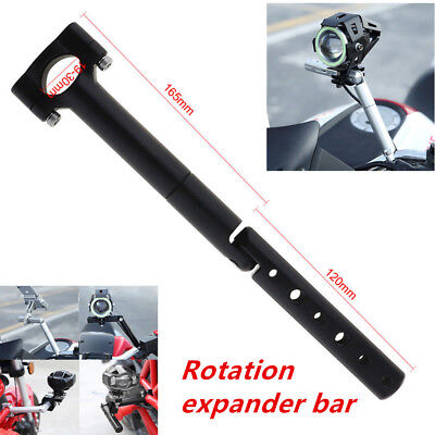 Well Made Scooter Handlebar Post Extension Bracket Stand LED Light Accessories