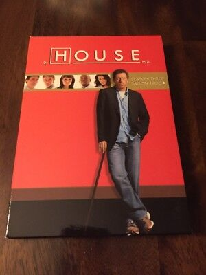 HOUSE M.D. The COMPLETE Third SEASON THREE on DVD of MEDICAL md TV SHOW Series 3