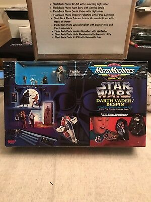 Star Wars MicroMachines Darth Vader/Bespin