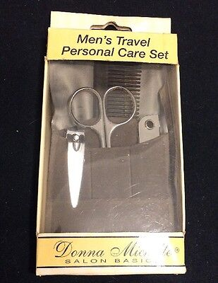 Trim Men's Grooming Tools Personal Care 5 Piece Travel Set Donna Michelle