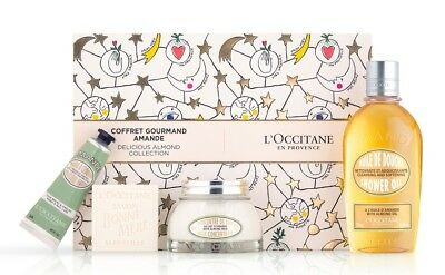 NEW L'Occitane Christmas Delicious Almond Collection Gift Box  Free Post