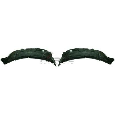 AM Front,Pair Set Of 2 LH Splash Shield For Nissan Frontier NI1250127
