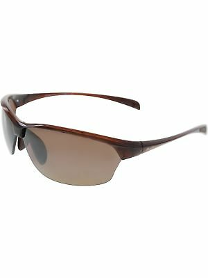 23738b3920 Maui Jim Men s Polarized Sands H426-26 Brown Shield Sunglasses