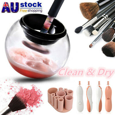 2018 New Electric Makeup Brush Cleaner And Dryer Set Includes Brush Collar Stand