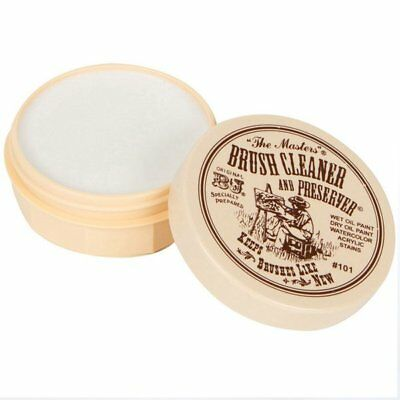 The Masters 2-1/2 oz Brush Cleaner and Preserver Soap